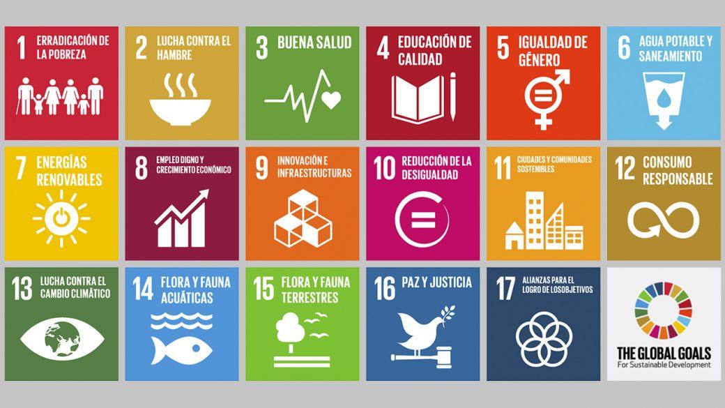 Metas de los objetivos de desarrollo sostenible.