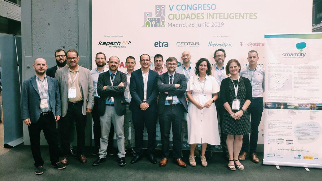 La RECI concluye su participación en el V Congreso de Ciudades Inteligentes