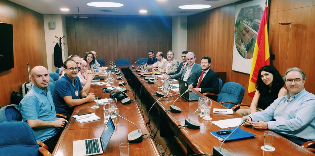 Reunión de la Red Española de Ciudades Inteligentes (RECI) con la Secretaría de Estado para el Avance Digital (SEAD)