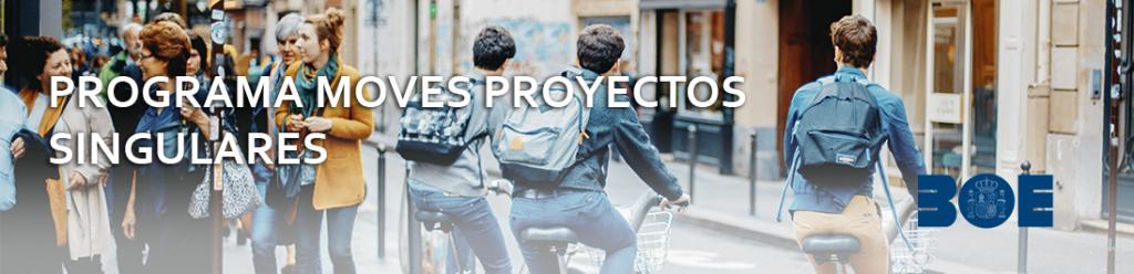 Programa MOVES proyectos singulares