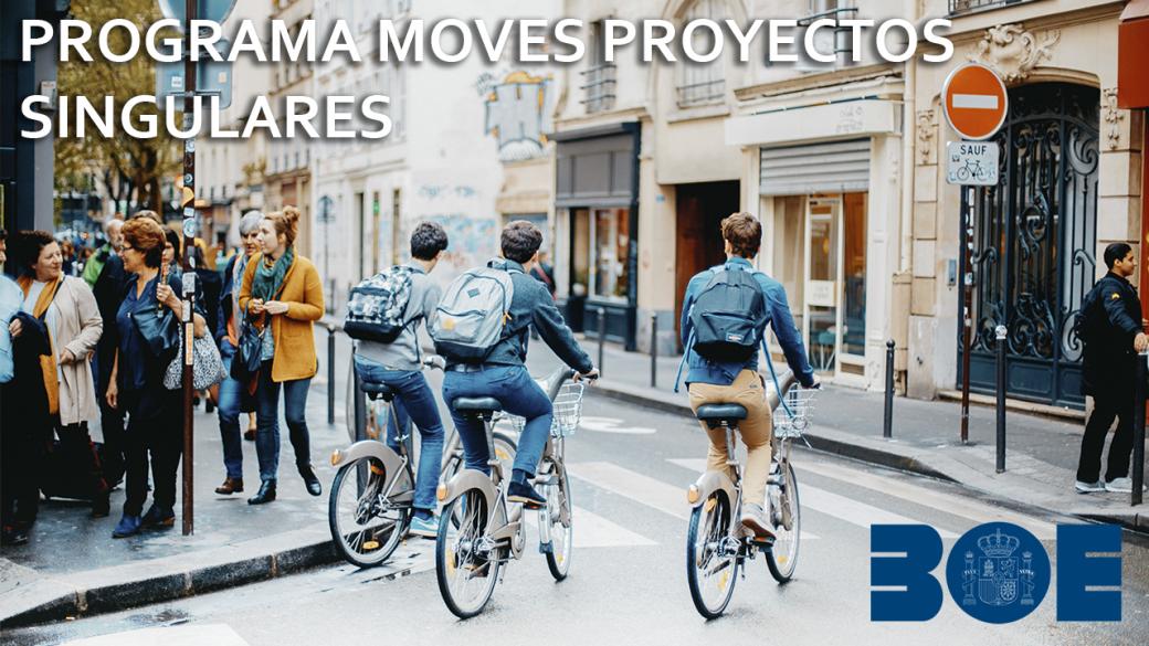 El programa de proyectos singulares del Plan MOVES destina 15M de € a proyectos experimentales de movilidad
