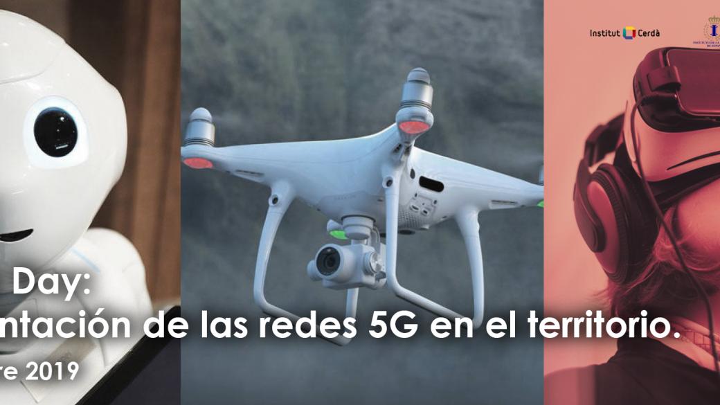 Implantación de las redes 5G en el territorio. Madrid, 10 de Octubre