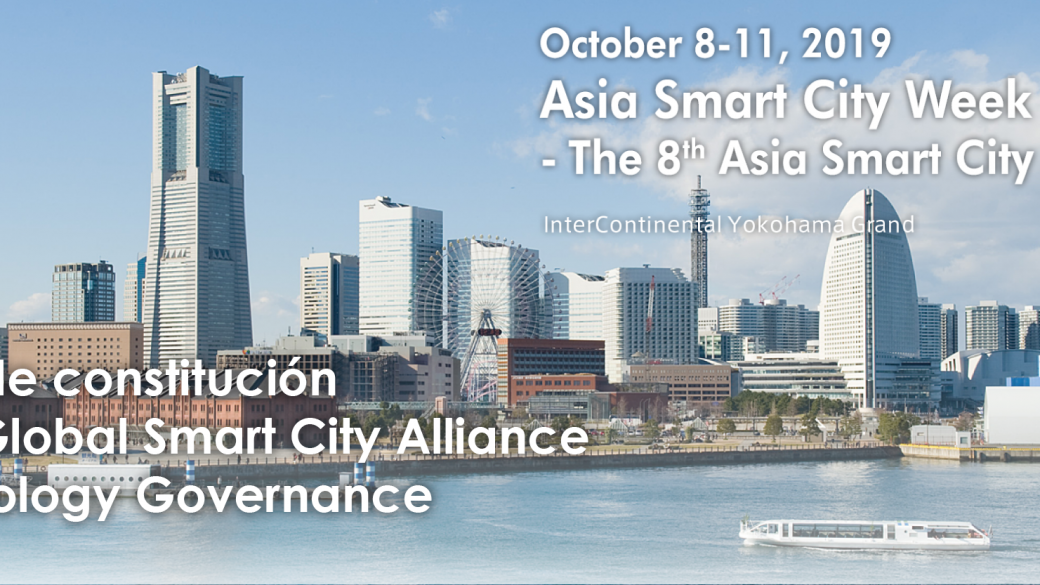 Constitución del G20 Global Smart City Alliance on Technology Governance