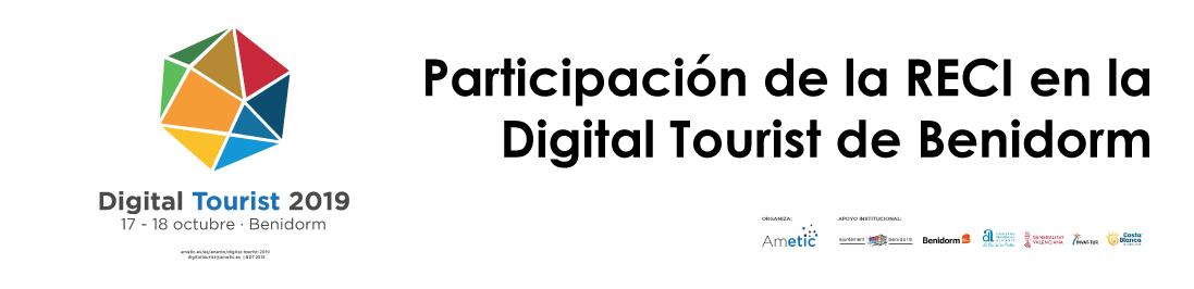 La RECI participa en el evento Digital Tourist de Benidorm