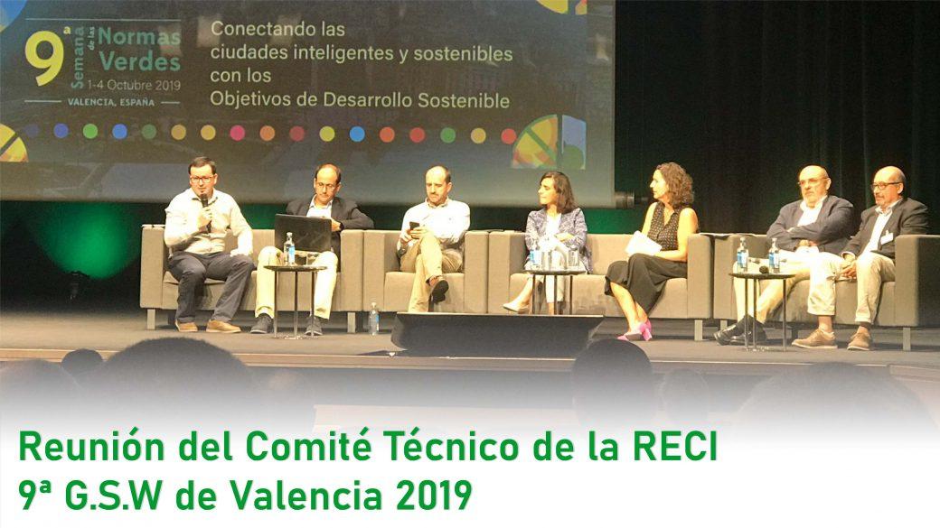 El Comité Técnico de la RECI culmina su reunión en la 9th GSW de Valencia