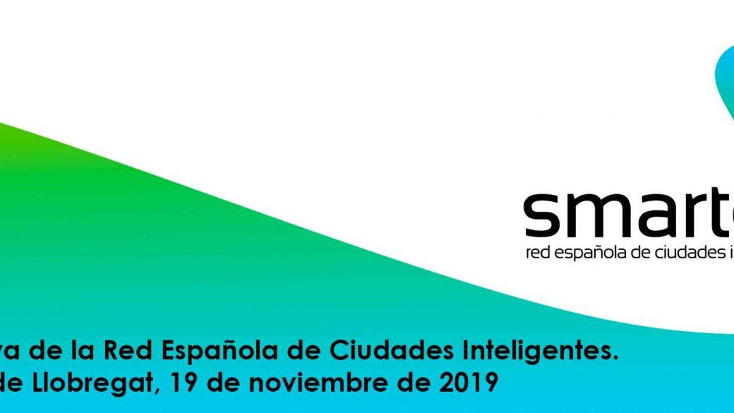 Junta Directiva de la Red Española de Ciudades Inteligentes. L'Hospitalet de Llobregat, 19 de Noviembre
