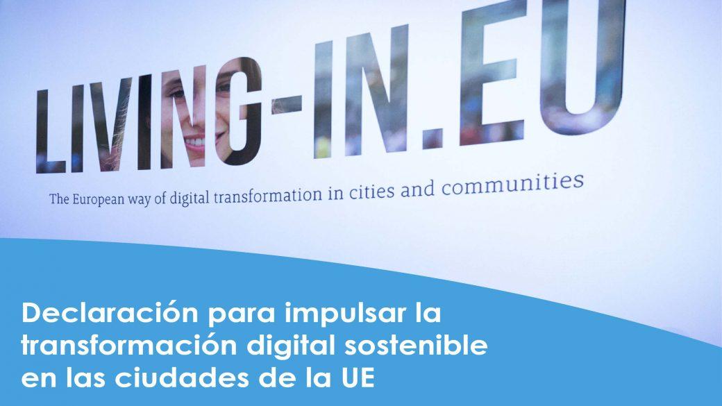 El camino europeo para la transformación digital de las ciudades. Declaración de OULU